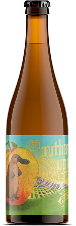 Southern Sunrise bottle and label